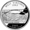 West Virginia quarter
