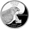 Idaho quarter